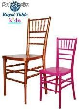 Sillas infantiles para fiestas y Banquetes: Silla Tiffany® Kids Royal table