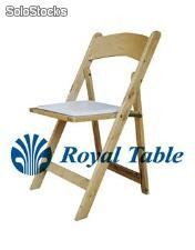 Sillas plegables de madera para Banquete: Silla Avant Garde® Royal table