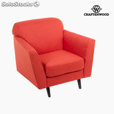 Sillón abbey rojo by Craftenwood