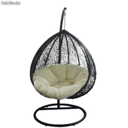 Sillon balancin colgante wicker for Sillas colgantes para jardin