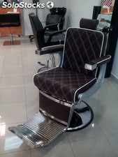 Sillon barbero marron vintage