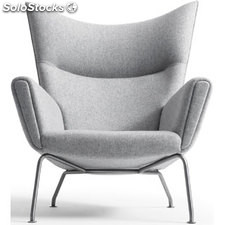 Sillón ch455 Chair & Ottoman - Top Quality