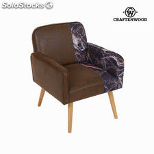 Sillón con brazos marrón by Craftenwood