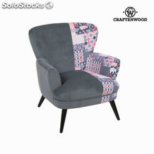 Sillón con brazos patchwork by Craftenwood