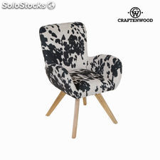 Sillón con brazos vaca by Craftenwood