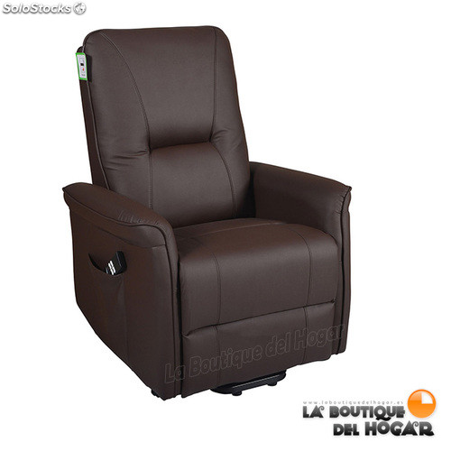 Sillón de masaje Minalo Levantapersonas ECO-8550 UP color Marrón Chocolate