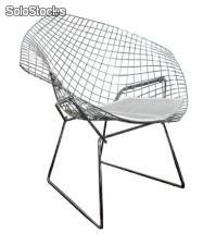 Sillón Diamond Wire h. Bertoia