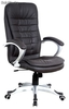 Sillon direccion aluminizado similpiel Atlantic