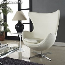 Sillon Egg Blanco 'arne jacobsen'