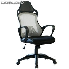 Sillon gaming kelly malla gris