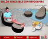 Sillon Hinchable con reposapies