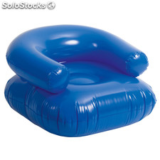 Sillon inflable reset azul
