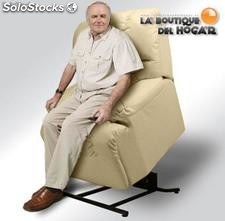 Sillon Levantapersonas irene Color Beige,Negro y Chocolate