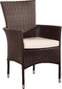 Sillon rattan chocolate Riviera