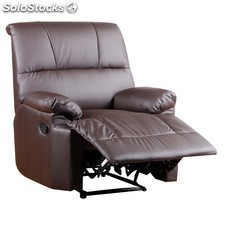 Sillon reclinable chocolate oferta