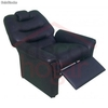 Sillon Reclinable Poltrona Diva Color Negro