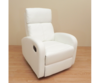 sillon polipiel blanco