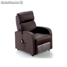 Sillon relax electrico moka o negro power lift
