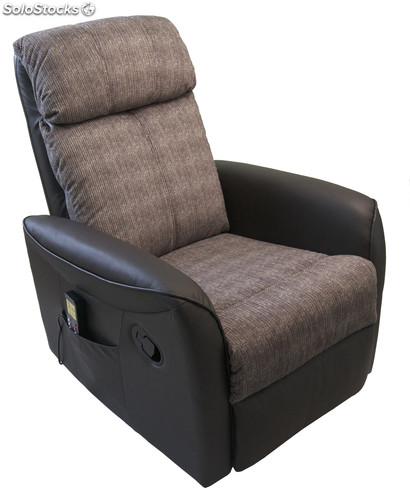 Sillon relax tela simple silln relax automtico jacob with for Sillon reclinable tela