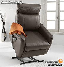 Sillón Relax Levantapersonas Doble Motor Modelo Mister Color Chocolate