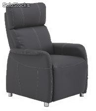 Sillon relax reclinable Agora gris antracita