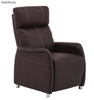 Sillon relax reclinable Agora marron