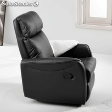 Sillón relax Slim - Color - Negro