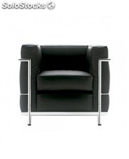 Sillon replica corbusier negro