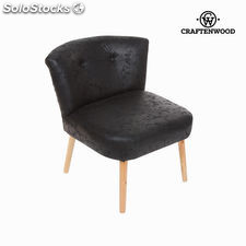 Sillón retro negro antiguo by Craftenwood