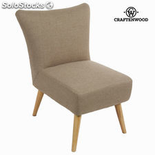 Sillón sixty beige - Colección Love Sixty by Craftenwood