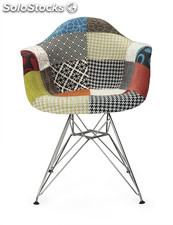 Sillon style acero patchwork