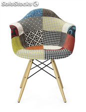 Sillon style wood patchwork
