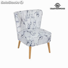 Sillón tela mármol by Craftenwood