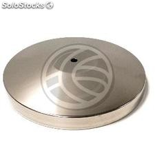 Silver Base 350mm for extendable retractable belt post (BC24-0002)