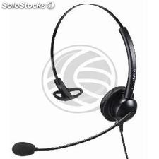 Simple headset compatible with GN Netcom QD model KG21 (KG21)