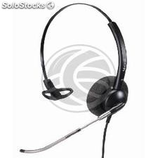 Simple headset compatible with GN Netcom QD model KG23 (KG23)
