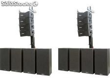 Sistema de Audio - Line Array 24.000W