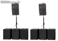 Sistema de Audio - Line Array 9.000W