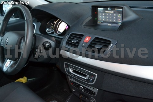 sistema de navegaci n radio gps para renault megane iii fluence. Black Bedroom Furniture Sets. Home Design Ideas
