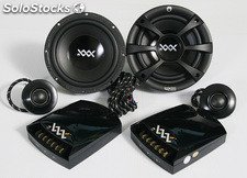 Sistema vías separadas re audio woofer 6,5