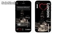 Skin Adesivo iPhone 4 e 4s - i Love London