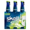 Skoll ice apple biere 3X33CL