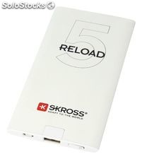 Skross Portable Power Bank 5000 mAh USB White NE550573301