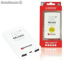 Skross Power Bank Portable 5000 mAh USB Blanco NE550605224