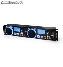 Skytec 172.797 stc-50 reproductor doble MP3/usb/sd