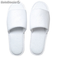Slipper Frottee , White