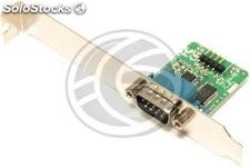 Slot adaptador USB a RS232 de 1 puerto DB9 macho interno (TS95)