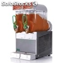 Slush machine-mod. fbm 2 l-# 2 bowls-n. 1 compressor-thermostat for soft drink