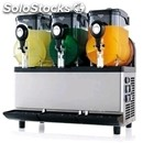 Slush machine - mod. granismart 3 new edition - n. 3 tanks - capacity lt 5 + 5 +