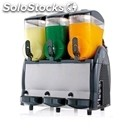 Slush machine - mod. spin 3 - also suitable for sorbets and cocktails - push and